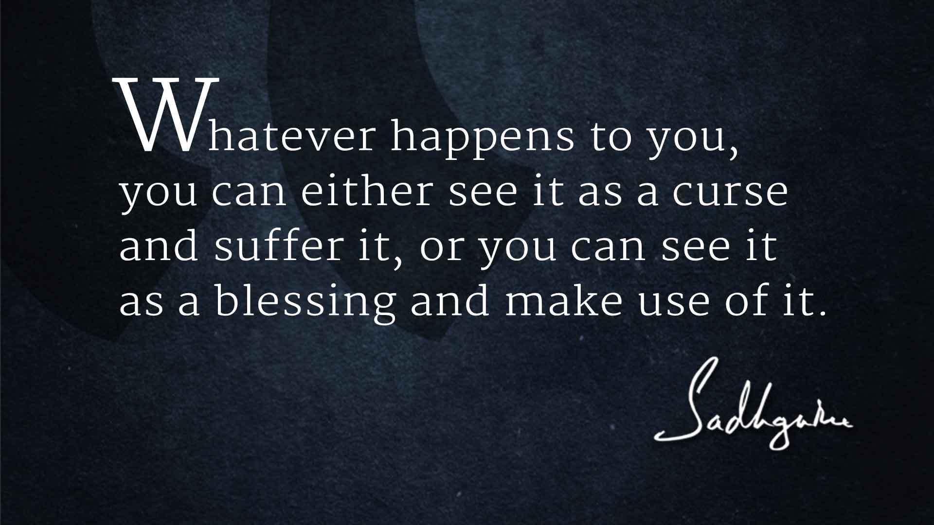 Sadhguru Quotes for the New Year - The Isha Blog Priority Quotes