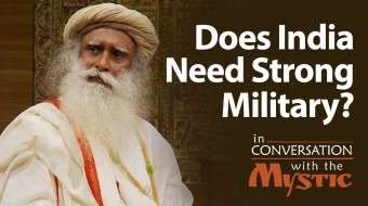 Does India Need Strong Military?