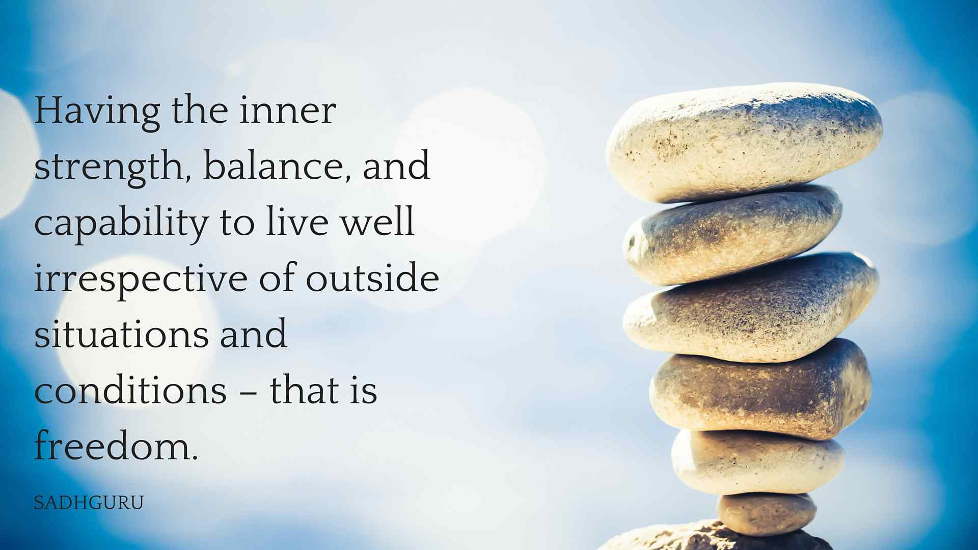 Life In Balance Deeper