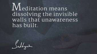 Sadhguru's Quotes on Meditation