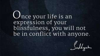 Quotes on Life From Sadhguru