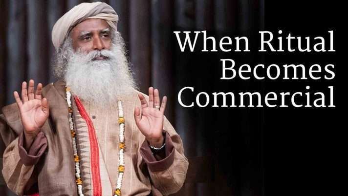 When Ritual Becomes Commercial